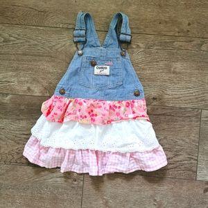2/$15 Oshkosh B'gosh girls Jean sundress